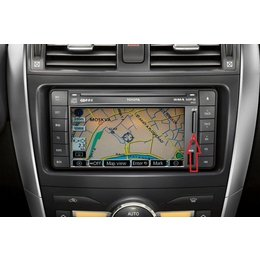 Map update 2017 2018 TOYOTA TNS510 Navigation