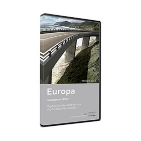 AUDI NAVIGATION PLUS RNS-E DVD Europe Version 2016 DVD 3/3 8P0 919 884 CG  DEMO MODEL