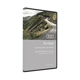 AUDI NAVIGATION PLUS RNS-E DVD Europe Version 2017 3 x DVD 8P0 919 884 CM