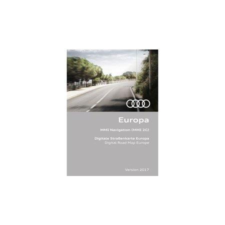 Audi Audi MMI Navigation 2G Update, Europa 2017