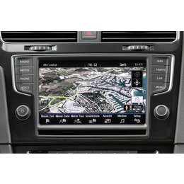 Retrofit Discover Pro MIB DAB+ set met Display & Golf 7 Navigatie VW