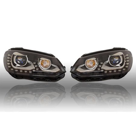 Bi-Xenon Scheinwerfer Set LED TFL für VW EOS 2012