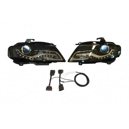Bi-Xenon / LED koplampen - Retrofit - Audi A5 8T w / Daylight