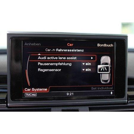 Active Lane Assist incl verkeersbord erkenning Audi A6, A7 4G