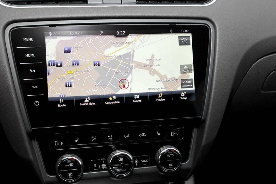 retrofit set navigation system columbus for skoda octavia 5e sim dab car gadgets bv. Black Bedroom Furniture Sets. Home Design Ideas