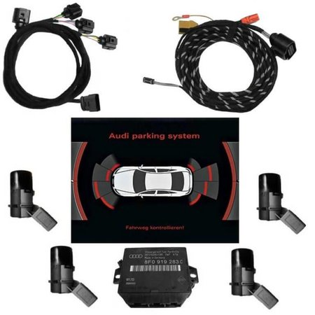 APS Audi Parking System Plus - Voor Uitbreiden Audi Q7 4L