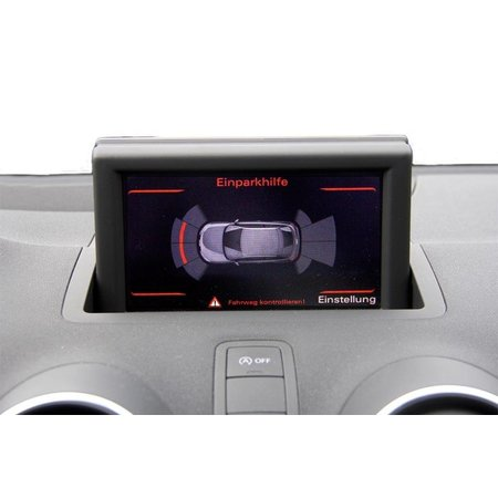 Komplett-Set Einparkhilfe Front für Audi A1 8X - Ohne RDK / Mit Sitzheizung