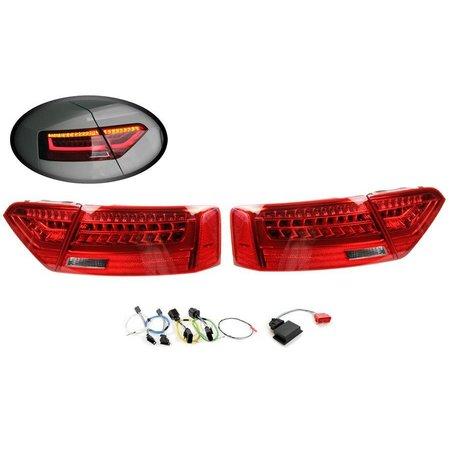 Komplett-Set LED-Heckleuchten für Audi A5 / S5 Facelift - LED US auf LED facelift EU