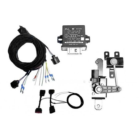 Automatische niveauregeling set   complete set - Retrofit - VW Golf 7 - Bi-Xenon, corning licht, 0N4, zonder elektr. damper control