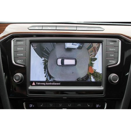 Complete set 360 Area view AreaView voor VW Tiguan AD1 - 2J2, 2J3