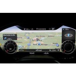 Nachrüst-Set MMI Navigation plus mit MMI touch für Audi TT 8S (FV) - DAB+
