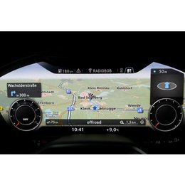 Retrofit set MMI Navigation plus with MMI touch for Audi TT 8S (FV) - DAB +