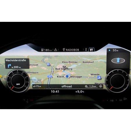 Retrofit set MMI Navigation plus with MMI touch for Audi TT 8S (FV) - SIM,  DAB