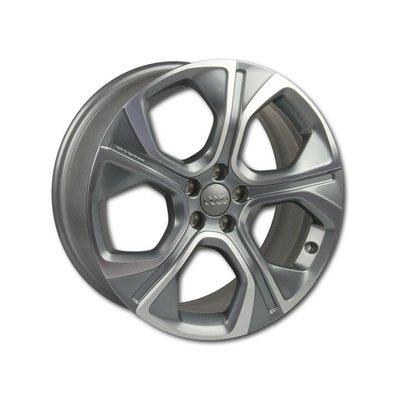 Originele velgen voor Audi A1 8X aluminium wiel, 5-spaken polygoon 18 inch