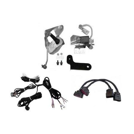 Automatische niveauregeling set-Retrofit-VW Golf 4 na 08/02 w / HID - voorwiel aandrijving