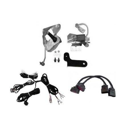 Automatische niveauregeling set-Retrofit-VW Bora na 08/02 zonder Xenon Adapter - voorwielaandrijving