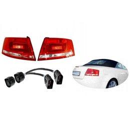 Facelift LED achterlichten - Retrofit - Audi A4 8H Cabrio
