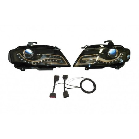 Bi-Xenon / LED-Scheinwerfer - Retrofit - Audi A4 8K w / Tageslicht
