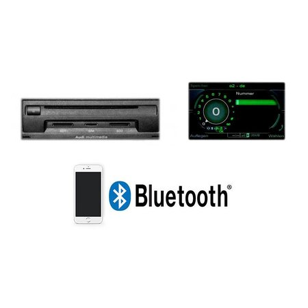 "Bluetooth handsfree- Audi met MMI 3G ""Bluetooth Only"""