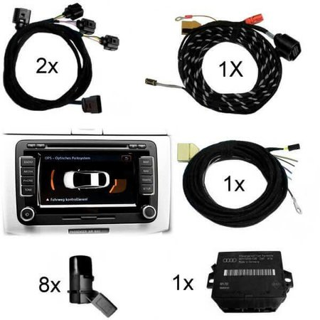 APS + - voor / achter Retrofit - Audi Q5 w / MMI Radio