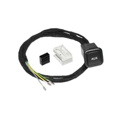 Aux-In-Buchse - Retrofit - VW RNS 510, MFD2, RCD 310