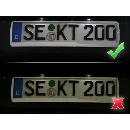 Bundle LED-Kennzeichenbeleuchtung VW Touareg 7P