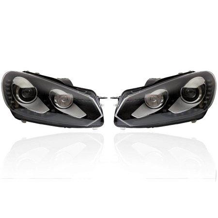Bi-Xenon verlichting LED DTRL - Upgrade - VW Golf VI 6