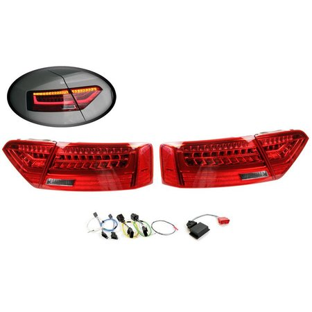 Komplett-Set LED-Heckleuchten für Audi A5 / S5 Facelift - LED auf LED facelift