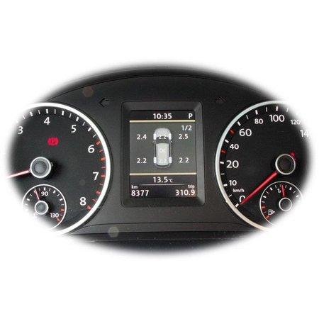 Bedrading ingesteld? Tire Pressure Monitoring System, VW Tiguan, Passat B7