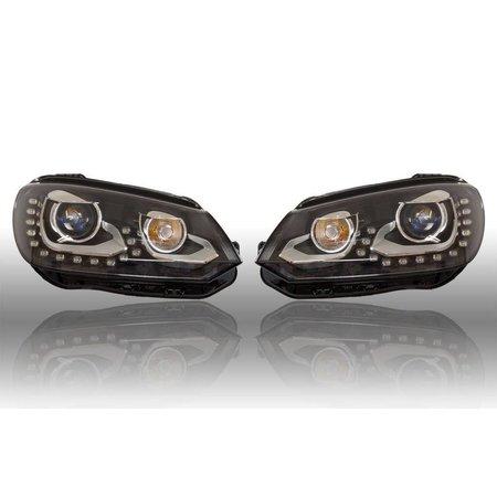Bi-Xenon verlichting LED DTRL - VW EOS 2012