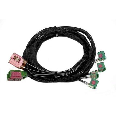 Kabelsatz TV-Antennenmodule für Audi A8 4E - MMI 3G