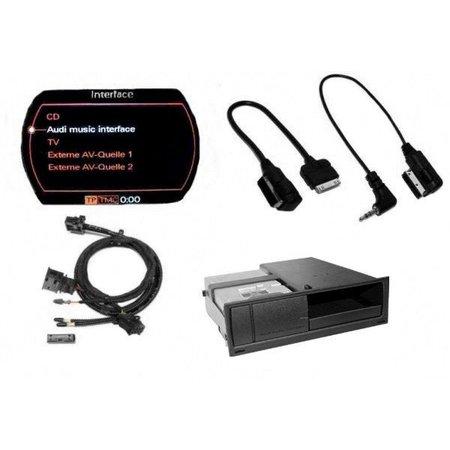 Nachrüst-Set AMI (Audi Music Interface) iPod für Audi A4 8K MMI 2G - ext. Audioquelle