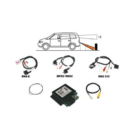 "Achteruitrijcamera - ""Universal"" Interface - Audi / VW - RNS 510/315"