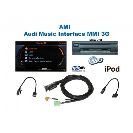 AMI Audi Music Interface - Retrofit - Audi - iPod