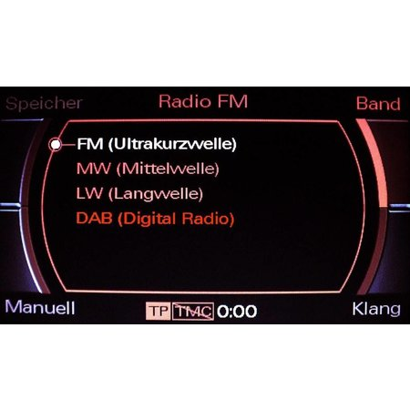 Kabelsatz digitales Radio DAB für Audi A4 8K MMI 2G - Limousine