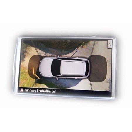 Area View - 4 Kamera System für VW Touareg 7P - mit Parkdistanzkontrolle