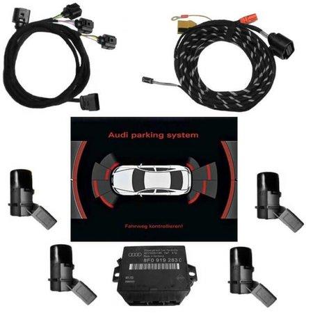 Komplett-Set APS plus+ (optische Anzeige RNS-E) für Audi A3 8P - ab 25.01.2010