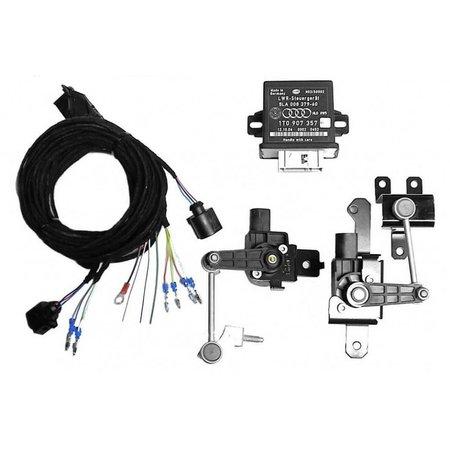 Automatische niveauregeling set - Retrofit - VW Tiguan vanaf bj.2012 - met elektr. dumper controle