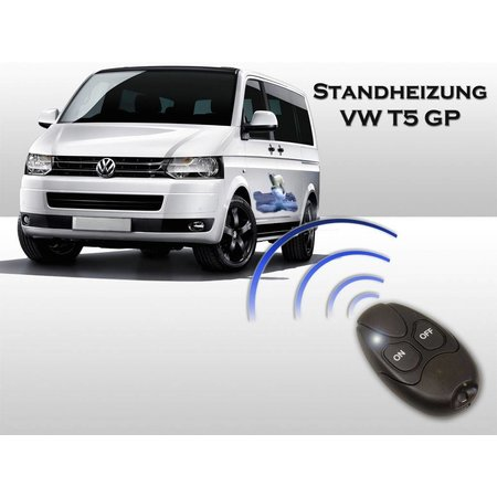 Auxiliary verwarming VW T5 GP - klimatologische -