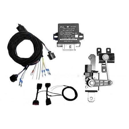 Automatische niveauregeling set   complete set - Retrofit - VW Golf 7 - Bi-Xenon, corning licht, met elektr. damper control