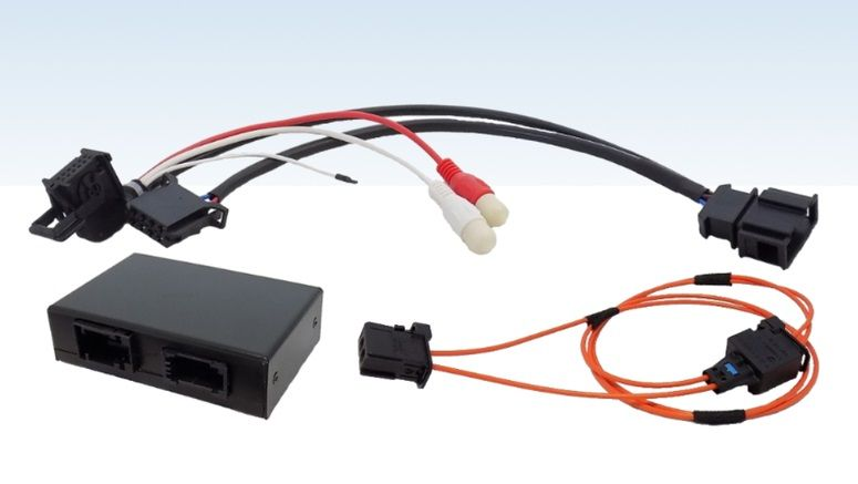 Audio Interface for Audi MMI 2G High and Basic Bluetooth AUX AMI