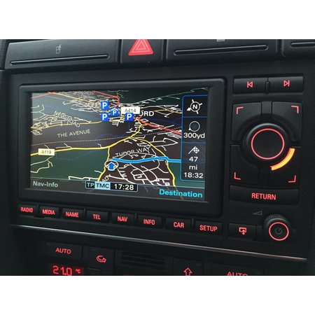 Audi Audi A4 8E 8H Navi RNS-E Media neu 8E0035193