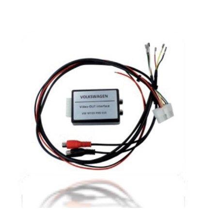 RNS510 Video Ausgang für 2 Monitore AV Out mit TV Tuner