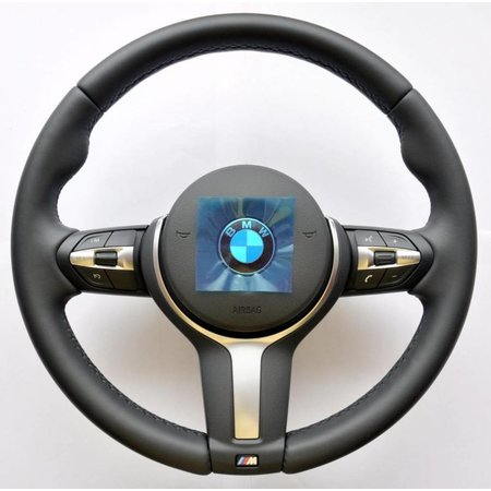 BMW BMW leather steering wheel M Sport with MFL F30 F31 F20