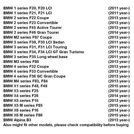 BMW BMW lederen stuurwiel M Sport met MFL Flippers F30 F31 F20