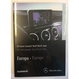 Garmin Map update 2018 Map Pilot Mercedes - C, E, GLC, V, X class Navigation V10