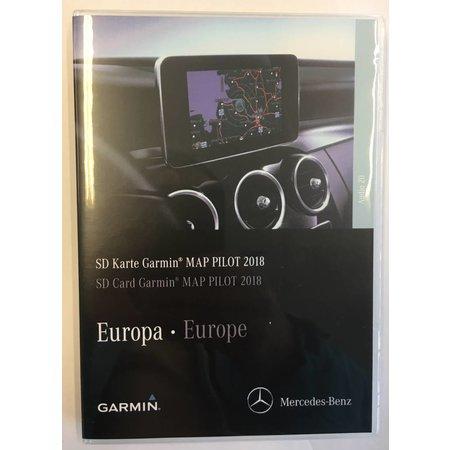Garmin Kartenupdate 2018 Karte Pilot Mercedes - C-, E-, GLC-, V-, X-Klasse Navigation V10