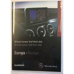 Here Here Kaartupdate 2021 Garmin Map Mercedes SD card Versie V16 Navigatie