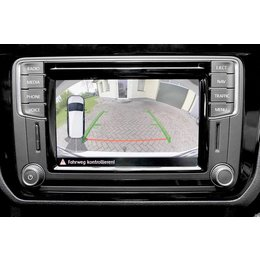 Complete rear view camera for VW Caddy SA