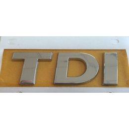 Original Volkswagen Schriftzug TDI Heck Logo Emblem 5G0 853 675  D